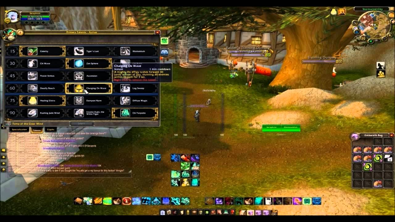 World Of Warcraft Pandaria Mistweaver Monk Talent Tree Youtube What i mean by is that we have no role in both problem 4: world of warcraft pandaria mistweaver