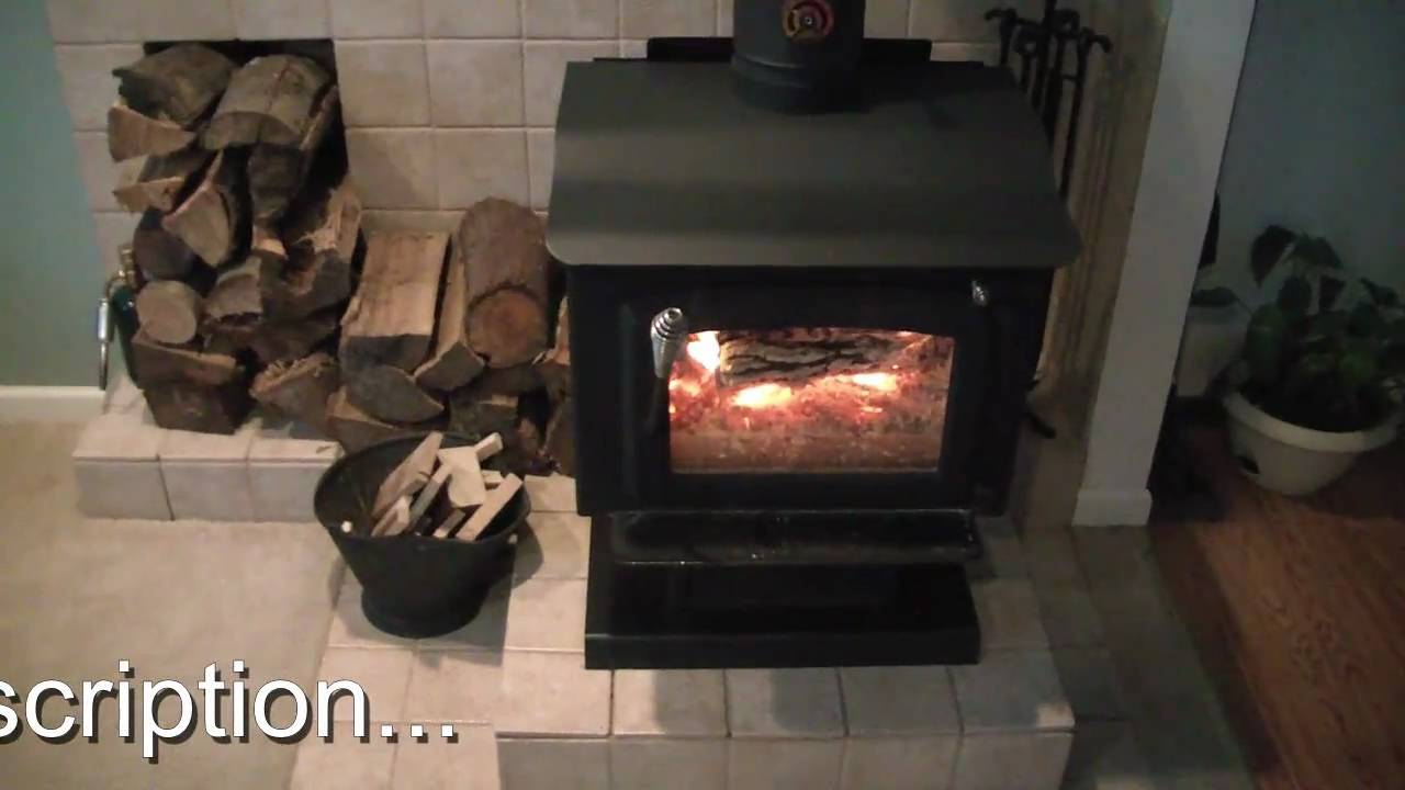 Our wood stove burning, operation and information. - Our Wood Stove Burning, Operation And Information. - YouTube