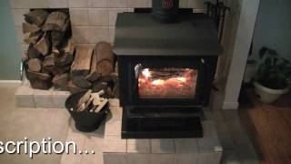 Our Wood Stove Burning, Operation And Information.