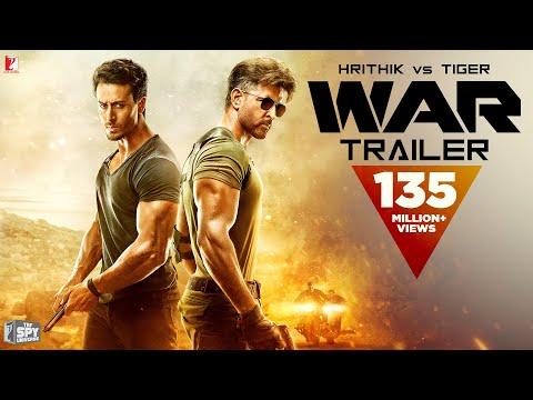 WAR Trailer   Hrithik Roshan, Tiger Shroff, Vaani Kapoor   Official Trailer   New Movie Trailer