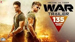 War Trailer | Hrithik Roshan | Tiger Shroff | Vaani Kapoor | 4K | New Movie Trailer 2019