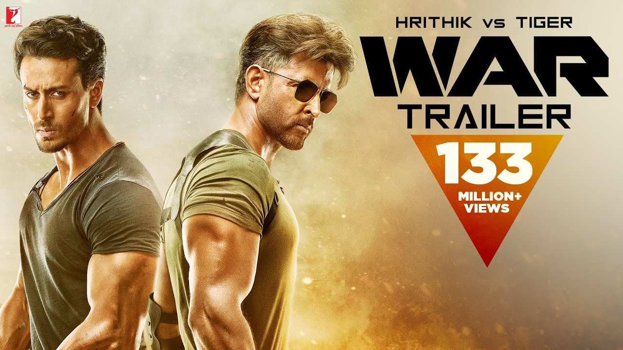 War | Official 4K Trailer | Hrithik Roshan | Tiger Shroff | Vaani Kapoor | Releasing 2 October 2019