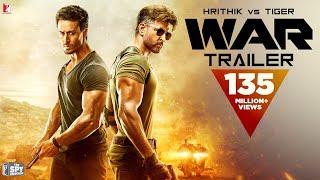 War Trailer   Hrithik Roshan   Tiger Shroff   Vaani Kapoor   4k   New Movie Trailer 2019
