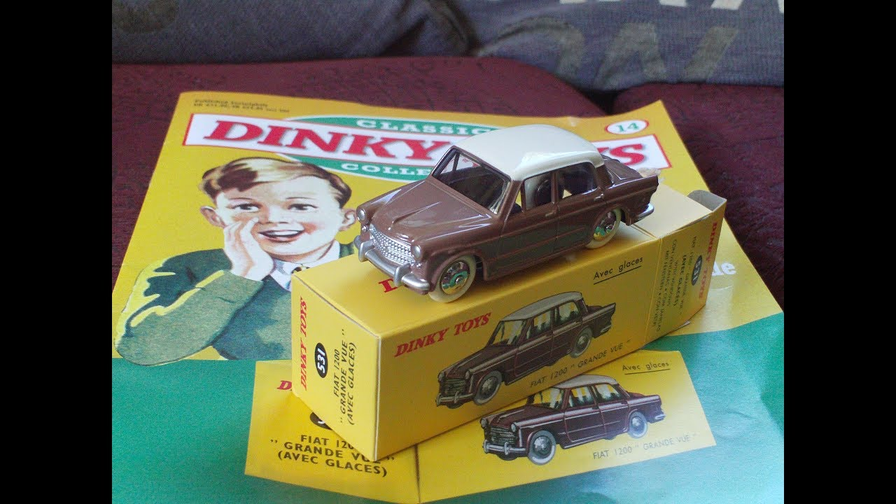 Ryan Toy Video Toys Review Deagostini Classic Dinky Toys Collection Part 14