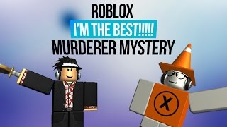 Roblox || I'M THE BOSS!! || Murderer Mystery Gameplay