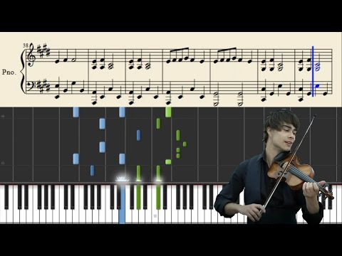 Alexander Rybak  Fairytale  Piano Tutorial + Sheets