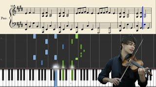 Alexander Rybak - Fairytale - Piano Tutorial + Sheets