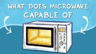 What microwave oven is capable. Magnetron microwave energy.
