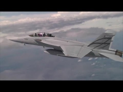 Boeing - Advanced Super Hornet Stealth Fighter Full Flight Tests [720p]