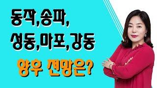 [SBS CNBC 부동산해결사들 신화선대표] 동작, 송파, 성동, 마포, 강동구 향후 전망은?