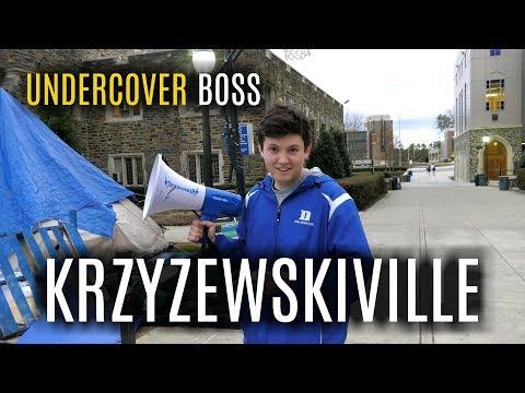 Undercover Boss: Krzyzewskiville