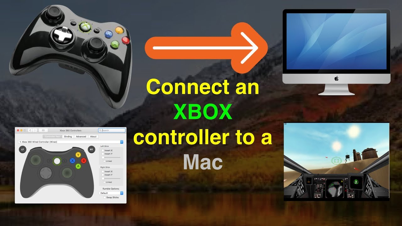 how to connect xbox 360 to mac pro