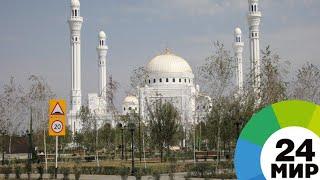 Фото На открытие мечети «Гордость мусульман» в Чечне пришли тысячи верующих