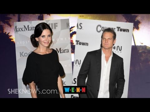 Courtney Cox and Brian Van Holt: ly an Item!  The Buzz
