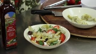 Recipe For Greek Cold Pasta Salad : Greek Salads & Other Healthy Recipes