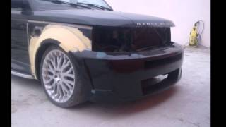 Range Rover Tuning in Baku By Adik Designo