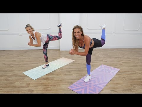 10-Minute Tight Booty & Toned Thighs Workout
