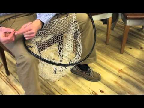 How To String A Nomad Boat Net Or Nomad Mid-length Boat Net