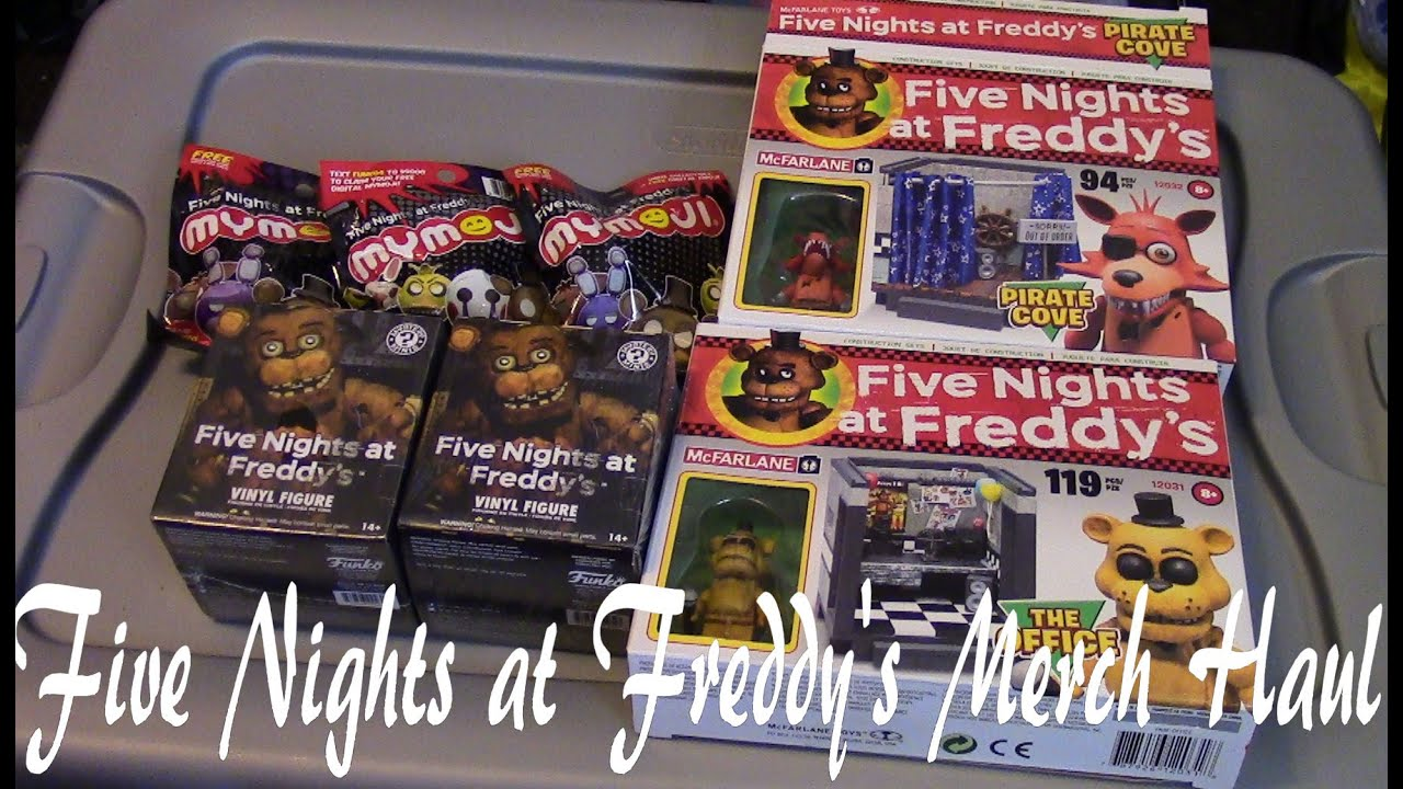 More five nights at freddy s construction sets coming soon - Five Nights At Freddy S Huge Merchandise Haul Mcfarlane Construction Sets And Funko