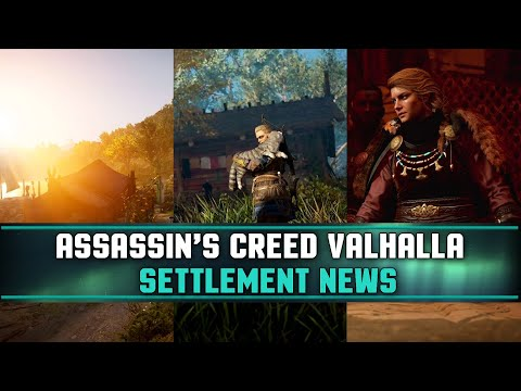 Assassin S Creed Valhalla Settlement Ravensthorpe New Building And More Youtube