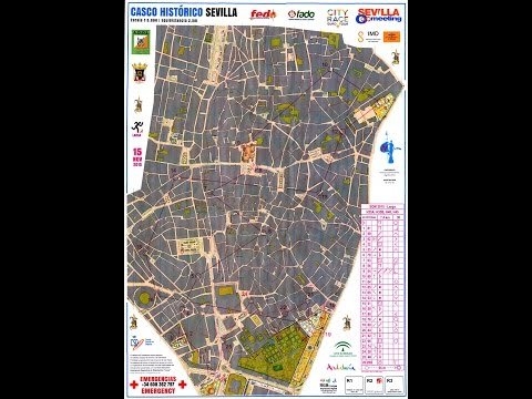 Euro City Race Tour - Seville Orienteering City Race 2015