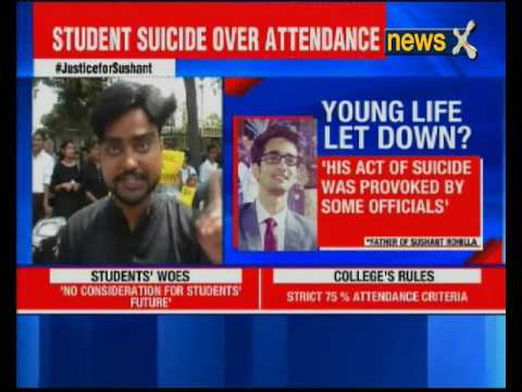 Amity Law School student committed suicide due to low attendance