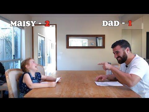Bad Dad Jokes. Maisy vs Dad.