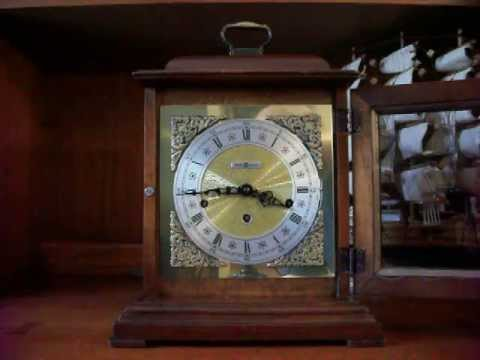 Howard Miller Triple Chime Bracket Mantel Clock