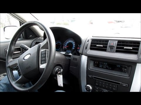 test drive 2012 ford fusion sel v6 awd youtube. Black Bedroom Furniture Sets. Home Design Ideas