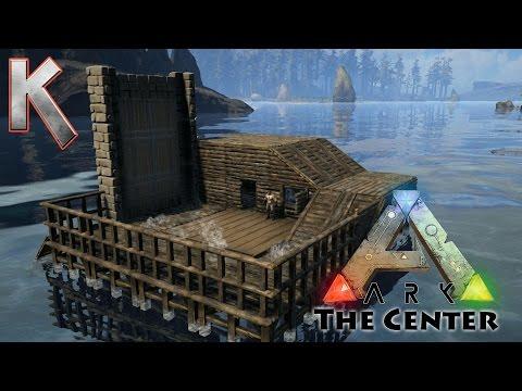 Epic BoatHouse Build! - Pooptopia - Season2 E4 - Ark Survival Evolved