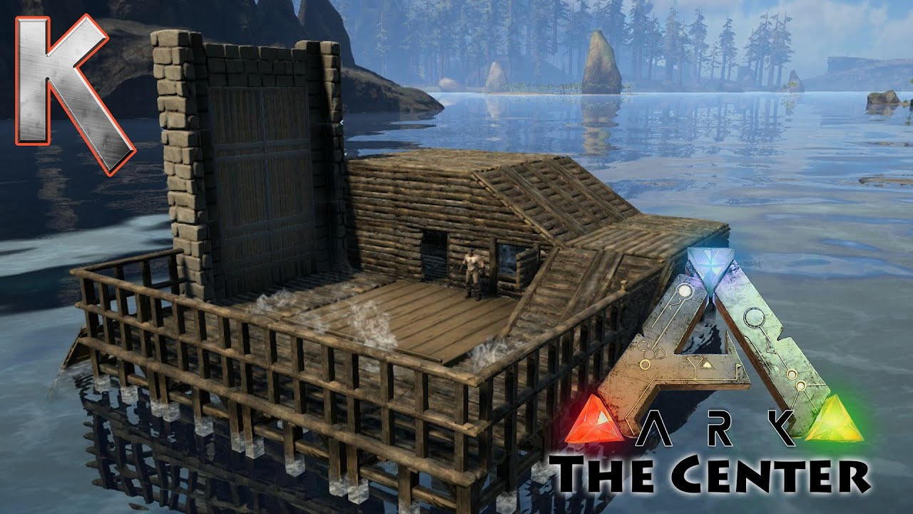 How To Build A House Boat On Ark