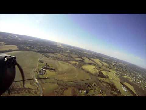 Aeronca L3 Flight