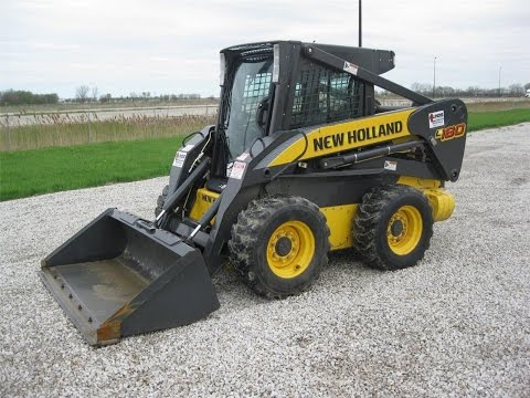 Мини-погрузчик NEW HOLLAND L180