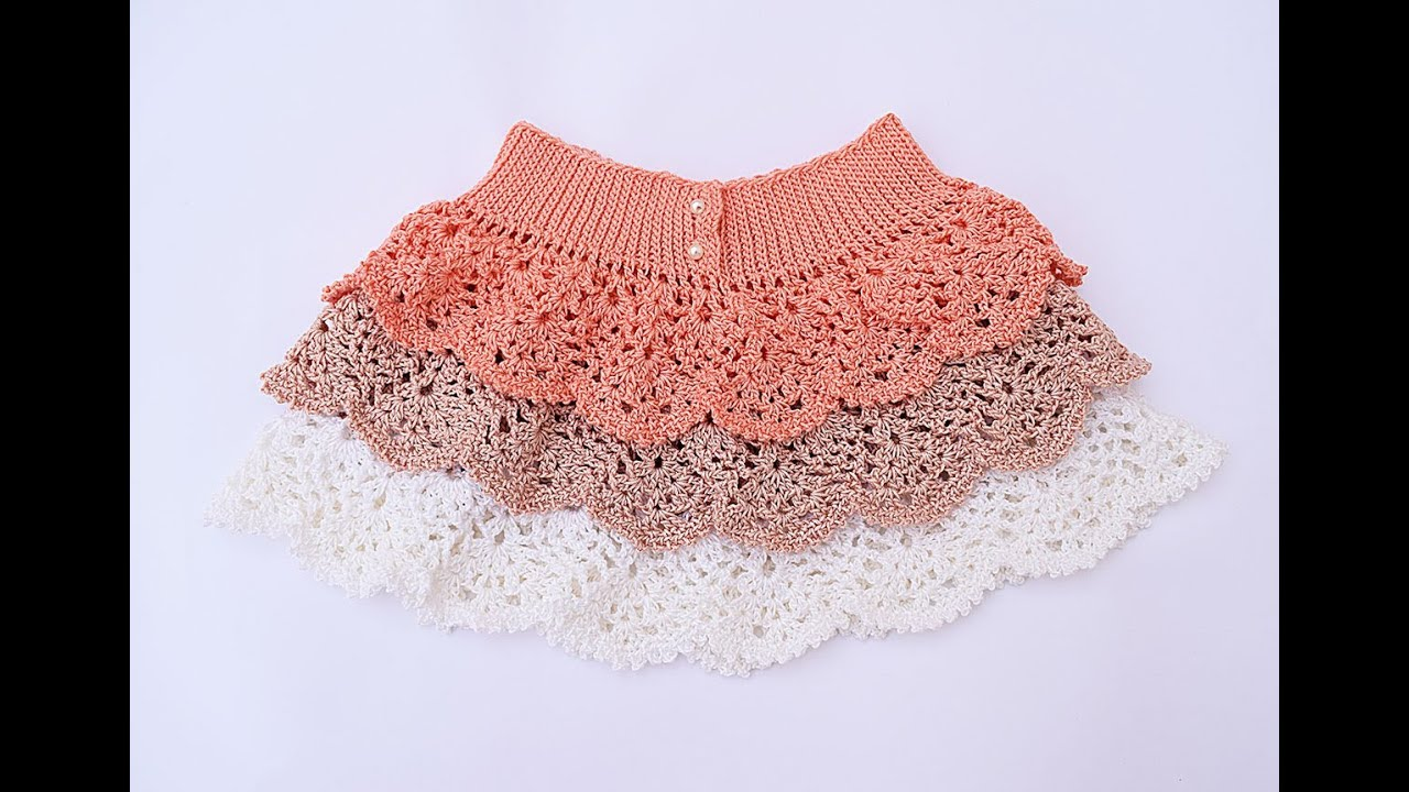 Crochet Ruffle Skirt Youtube