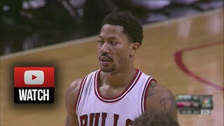 Derrick Rose Full Highlights vs Nuggets (2014.10.13) - 15 Pts, 5 Ast