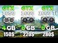GTX 1650 vs GTX 1660 vs GTX 1660 Ti Test in 7 Games