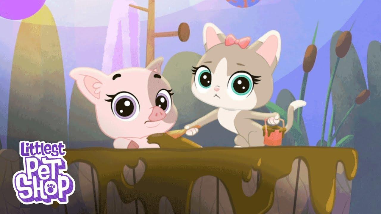 Littlest Pet Shop GET THE PETS-COUNTESS Chatterie 3954