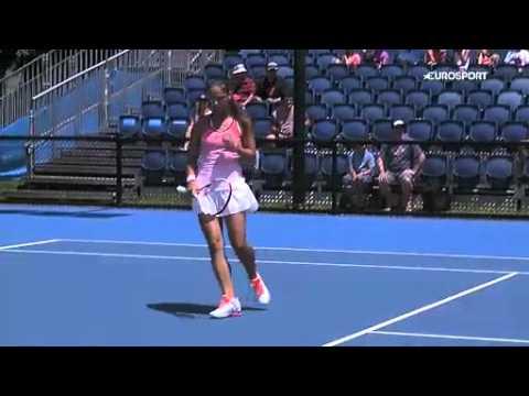 Highlights Kasatkina Konjuh 2 round Australian Open 2016