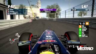 F1 2012 - Red Bull Monaco Circuit de Monaco Gameplay