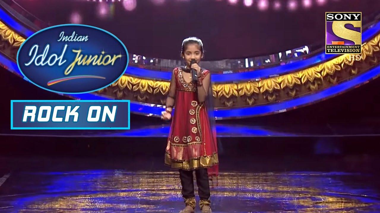 """Download Junior Idol Sugandha ने """"Dil Ko Hazar Bar"""" पर दिया Darling Performance   Indian Idol Junior  Rock On"""