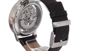 Kenneth Cole New York Mens Kc1718 Automatic Silver Dial Watch Watches