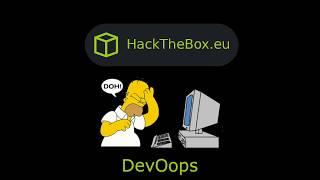 HackTheBox - DevOops