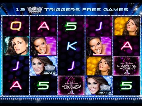 Miss Universe Crowning Moment Slot Game - 동영상