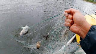 Пи а ТВОЕЙ МАШИНЕ Браконьеры потеряли страх Режу их сети Такая вот рыбалка