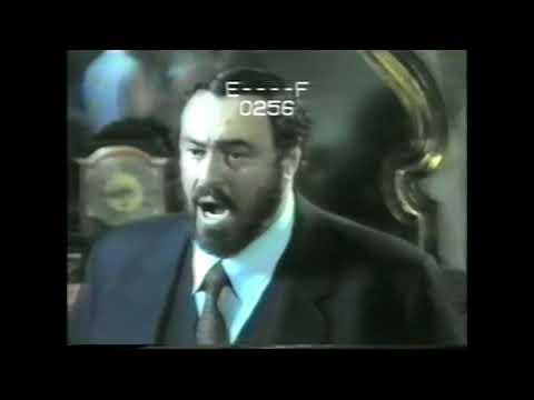 Pavarotti Never Seen Before Taping O Del Mio Amato Ben