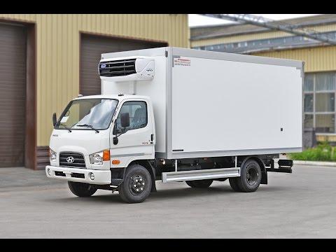 Тушевоз Hyundai HD 78 с холодильником Carrier