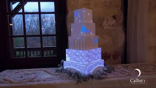 Fairytale Wedding Cake Projection Mapping by Callisto