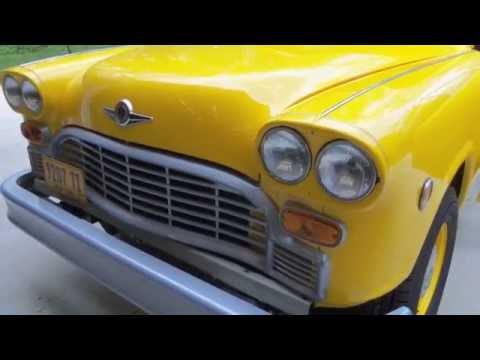 Taxi TV Series  Checker Cab 804
