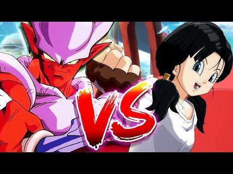 Janemba vs Videl Dragon Ball FighterZ DLC
