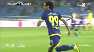 هدف النصر الأول  ضد التعاون (حسن الراهب) في الجولة 10 من دوري جميل